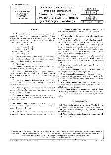 Produkcja garmażeryjna - Elementy i mięsa drobne uzyskane z rozbioru drobiu grzebiącego i wodnego BN-88/8151-46