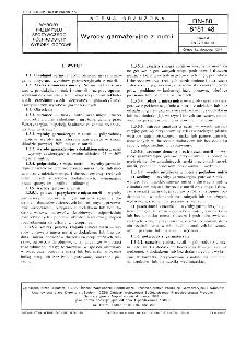 Wyroby garmażeryjne z nutrii BN-88/8151-48