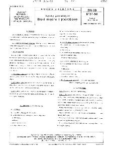 Wyroby garmażeryjne - Bloki mięsne i podrobowe BN-89/8151-50