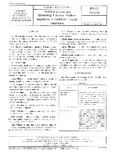 Produkcja garmażeryjna - Elementy i mięsa drobne uzyskane z rozbioru tuszek królików BN-78/8151-51