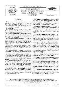 Wyroby garmażeryjne - Wyroby z mięsa baraniego oraz z dodatkiem mięsa baraniego BN-84/8151-54