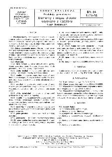 Produkcja garmażeryjna - Elementy i mięsa drobne uzyskane z rozbioru tusz baranich BN-84/8151-55