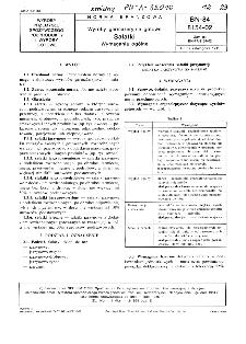 Wyroby garmażeryjne gotowe - Sałatki - Wymagania ogólne BN-84/8154-02