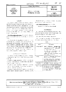 Wyroby garmażeryjne - Galarety mięsne BN-83/8157-01