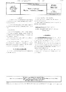Wyroby garmażeryjne - Bigosy i kapusty gotowane BN-83/8159-03