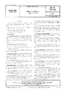 Mięso i podroby - Ocena w chłodni BN-83/8161-01