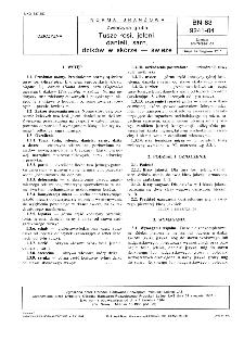 Zwierzyna gruba - Tusze łosi, jeleni, danieli, sarn, dzików w skórze - świeże BN-83/9241-04