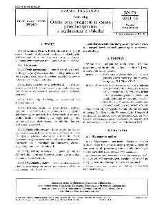 Drób bity - Ocena przy przyjęciu w czasie przechowywania i wydawania z chłodni BN-79/8031-05