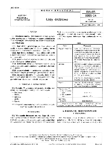 Łapy drobiowe BN-85/8035-04