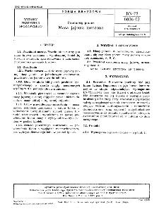 Przetwory jajowe - Masa jajowa mrożona BN-72/8036-02