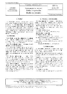 Przetwory jajowe suszone - Żółtko w proszku - Białko w proszku BN-74/8036-09