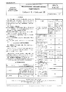 Witaminizowane mieszanki mleczno-węglowodanowe - Laktowit II i Laktowit III BN-71/8041-03