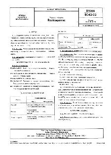 Napoje mleczne - Roztrzepaniec BN-66/8042-02