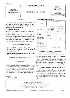 Śmietanka do skupu BN-73/8044-01