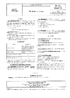 Maślanka paszowa BN-66/8049-03
