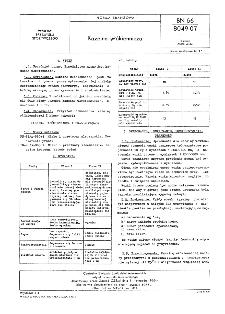 Kazeina włókiennicza BN-66/8049-07