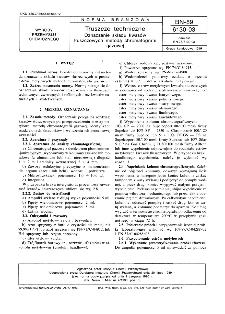 Tłuszcze techniczne - Oznaczenie składu kwasów tłuszczowych metodą chromatografii gazowej BN-89/6130-03