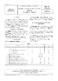 Produkty tłuszczopochodne naturalne - Oleina - Wymagania i badania BN-91/6133-02