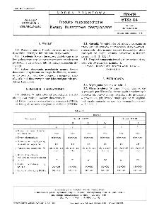 Produkty tłuszczopochodne - Kwasy tłuszczowe destylowane BN-89/6133-04