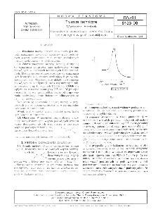 Tłuszcze techniczne - Metody badań - Oznaczanie zawartości izomerów trans izolowanych wiązań podwójnych BN-91/6133-06