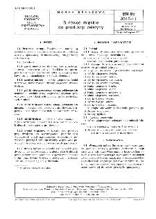 Surowce miękkie do produkcji żelatyny BN-85/8012-11