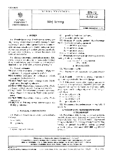 Klej kostny BN-72/8182-02