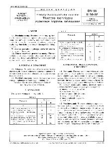 Produkty tłuszczopochodne naturalne - Tłuszcze techniczne zwierzęce topione rafinowane BN-85/8186-02