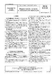 Magazynowanie konserw w opakowaniach blaszanych BN-66/8010-04