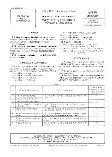 Przetwory rybne marynowane - Marynaty rybne zimne - Wymagania szczegółowe BN-87/8026-03