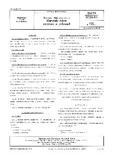 Przetwory rybne marynowane - Marynaty rybne smażone w zalewach BN-79/8026-04