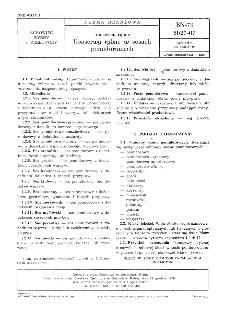 Konserwy rybne - Konserwy rybne w sosach pomidorowych BN-79/8027-07