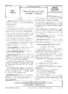 Konserwy rybne w sosach, kremach i zalewach BN-82/8027-09