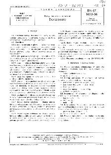 Ryby świeże i mrożone - Dorszowate BN-87/8022-05