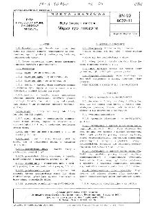 Ryby świeże i mrożone - Mięso ryb mrożone BN-90/8022-11