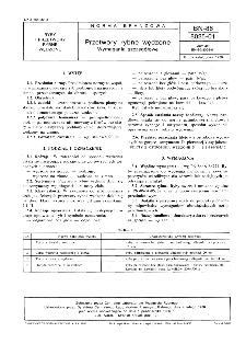 Przetwory rybne wędzone - Wymagania szczegółowe BN-86/8025-01