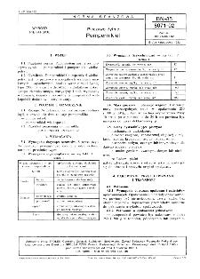 Pieczywo żytnie - Pumpernikiel BN-85/8071-02