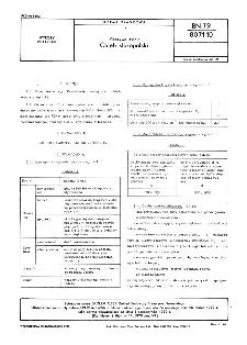 Pieczywo żytnie - Chleb staropolski BN-79/8071-10