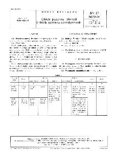 Chleb pszenny błonwit i chleb pszenny skandynawski BN-87/8072-04