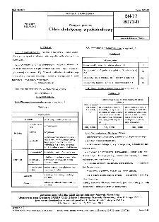 Pieczywo pszenne - Chleb dietetyczny wysokobiałkowy BN-77/8072-11