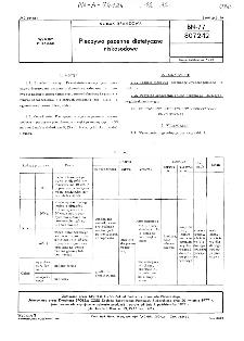 Pieczywo pszenne dietetyczne niskosodowe BN-77/8072-12