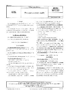 Pieczywo pszenne zwykłe BN-82/8072-20