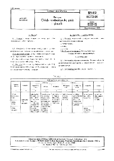 Pieczywo - Chleb rembertowski, piski i gliwicki BN-82/8073-01