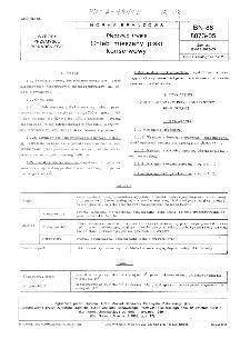 Pieczywo trwałe - Chleb mieszany piski konserwowy BN-88/8073-05