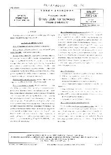 Pieczywo trwałe - Chleb piski konserwowy - Proces produkcyjny BN-87/8073-06