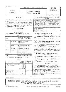 Pieczywo mieszane - Chleb toruński BN-79/8073-15