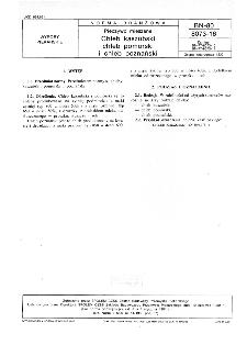 Pieczywo mieszane - Chleb kaszubski, chleb pomorski i chleb poznański BN-80/8073-16