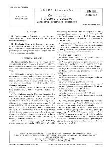 Ziarno zbóż i przetwory zbożowe - Oznaczanie kwasowości tłuszczowej BN-88/8060-03