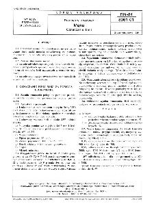 Przetwory zbożowe - Mąka - Oznaczanie bieli BN-84/8061-01