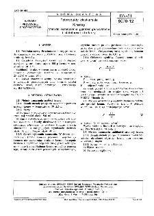 Półprodukty ciastkarskie - Kremy - Metoda oznaczania gęstości, puszystości i stabilności struktury BN-81/8070-12