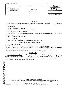 Odczynniki - Bromoform BN-65/6191-37